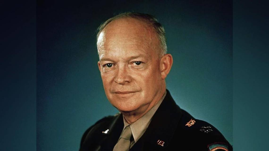 dwight d eisenhower portrait 1945